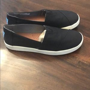 Toms Shoes | Toms Avalon Black Textured